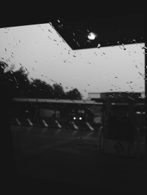 Rainy roadtrips are sorta the best. They're the best because the rain is quiet and peaceful but they're the worst because everything is wet and gross. I don't know.