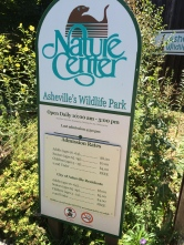 Next: The Nature Center! Basically a local zoo.