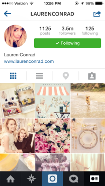 laurenconrad: Uh, hello. It's Lauren Conrad.